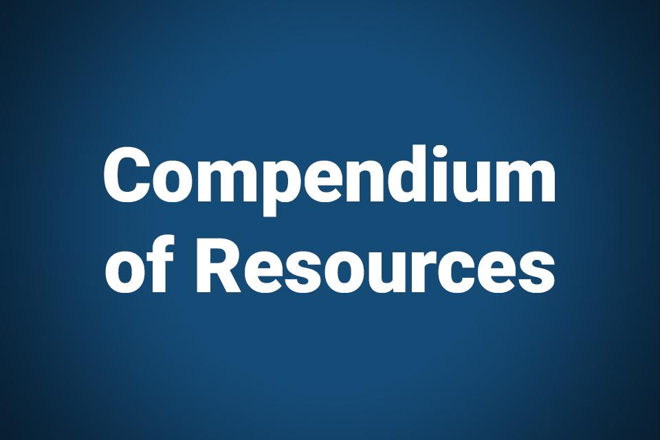 Compendium of Resources