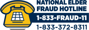 National Elder Fraud Hotline (1-833-372-8311)